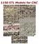 NEW-1150-3d-STL-Models-for-CNC-Compatible-with-Artcam-Aspire-Cut3d-3d-Printers miniature 1