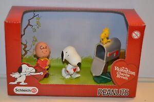 Schleich 22033 Peanuts Scenery Pack Valentine Special Valentinstag