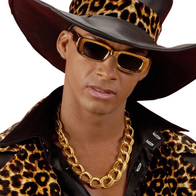 Rapper Halskette Gangster Kette Hip Hop Goldkette Pimp Zuhälter Schmuckkette