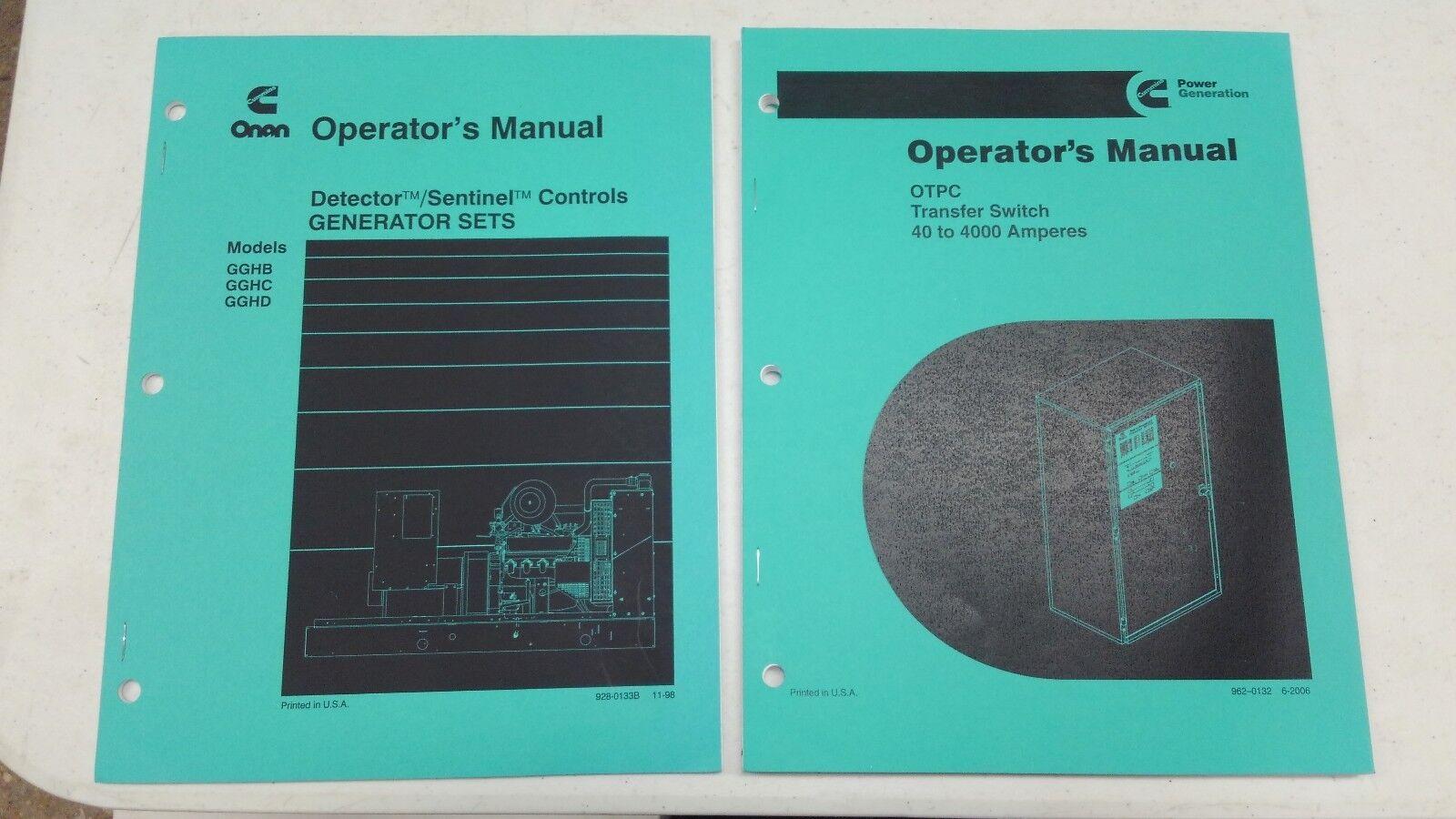 Otpcc Manual Electronics Hobby Circuits For Beginner39s February 2012 Otpc Not Recording Transfer Test Array Onan Operator U0027s Manuals Switch 40 To 4000 Amps Gghb Gghc Rh Ebay