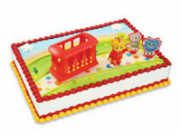 Daniel Tiger's Neighborhood Cake Decoration Decoset Cake Topper Figurine Trolley