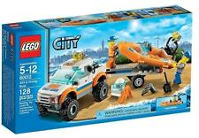 LEGO CITY 60012 4x4 Diving boat Rescue NEW