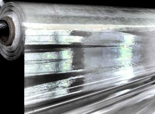25 m x 140 cm 1 € transparente PVC Folie Tischdecke B-Ware 0,25mm Stärke