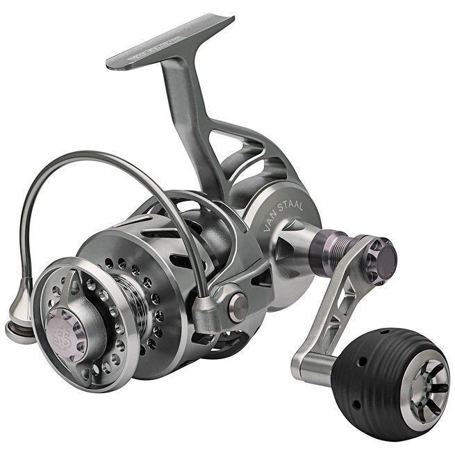 Van Staal VR150 Bailed Series Spinning Reel w  FREE 150yd spool of BRAID