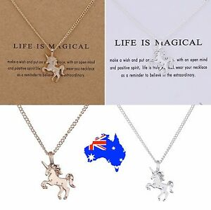 Dogeared-Life-is-Magical-Unicorn-Gold-Dipped-Silver-Pendant-Necklace-Gift-Pouch