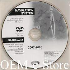 2008 Update 2005 2006 Land Rover Range Rover / Sport HSE Navigation OEM DVD Map