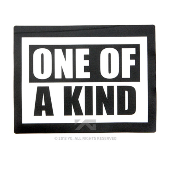 YG eshop/Big Bang: 2013 G-DRAGON 2013 ONE OF A KIND MOUSE PAD GD KPOP NEW$SEALED