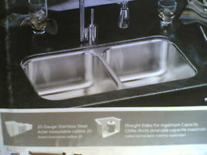 Prime Details About Nib Nice Elkay Stainless Steel Undermount Two Bowl Kitchen Sink 32 X 18 X 8 Download Free Architecture Designs Sospemadebymaigaardcom
