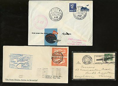 Aircraft + Flight Europe 1933-54...6 Covers