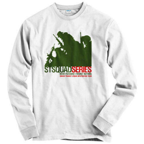 Men COD Military Army PT Youth Urban Infiltration Long Sleeve T-shirt LS