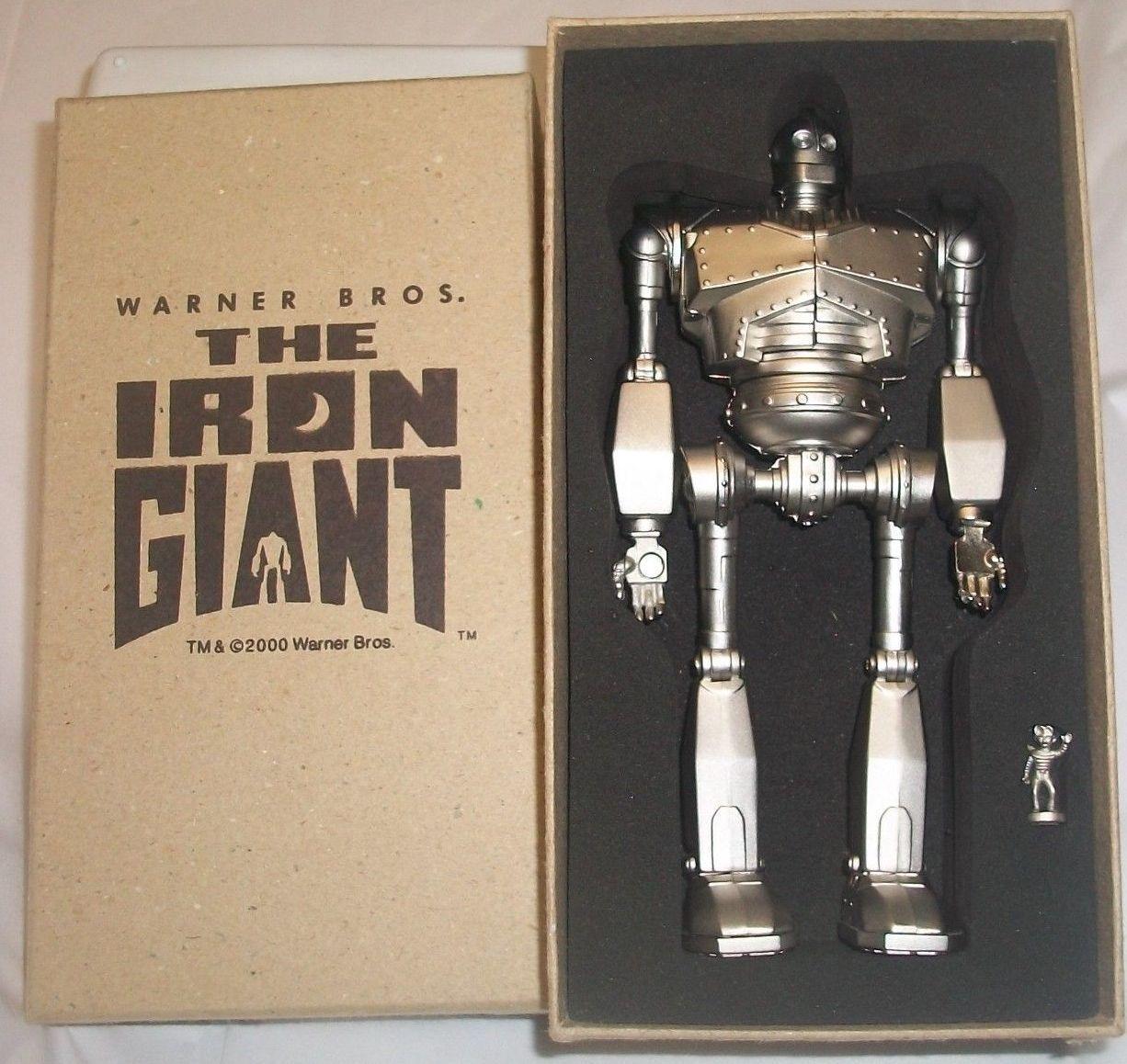 El gigante de hierro Articulado De Metal Acabado En Plata Raro Reloj Colección Nuevo