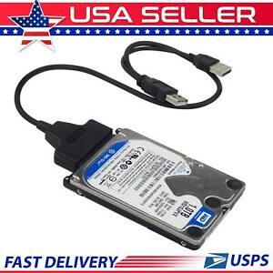 New-USB-2-0-to-2-5-inch-SATA-Hard-Drive-Adapter-Cable-UASP-SATA-to-USB-Converter