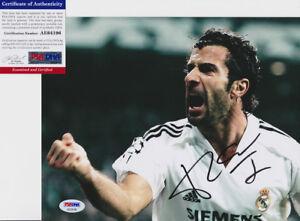 Luis-Figo-Portugal-Signed-Autograph-8x10-Photo-PSA-DNA-COA-1