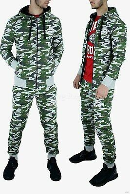 Ecko Homme Créateur Survêtement, Camouflage Veste & Jogging Pantalon Est | eBay