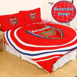 Officiel-arsenal-fc-Impulsion-Set-Housse-de-Couette-Double-Enfants-Adultes