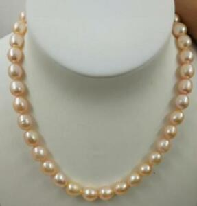 18-034-AAA-8-10MM-SOUTH-SEA-NATURAL-PINK-PEARL-NECKLACE-14K-GOLD-CLASP