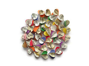Colorful Notes - Vintage Sheet Music Garland - Multi Colored