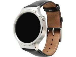 Huawei-55020533-RF-Smart-Watch-Stainless-Steel-with-Black-Suture-Leather-Strap-M