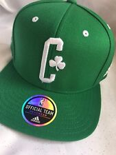 1f022be928fdf Adidas NBA Boston Celtics Official On Court Adjustable Cap- New