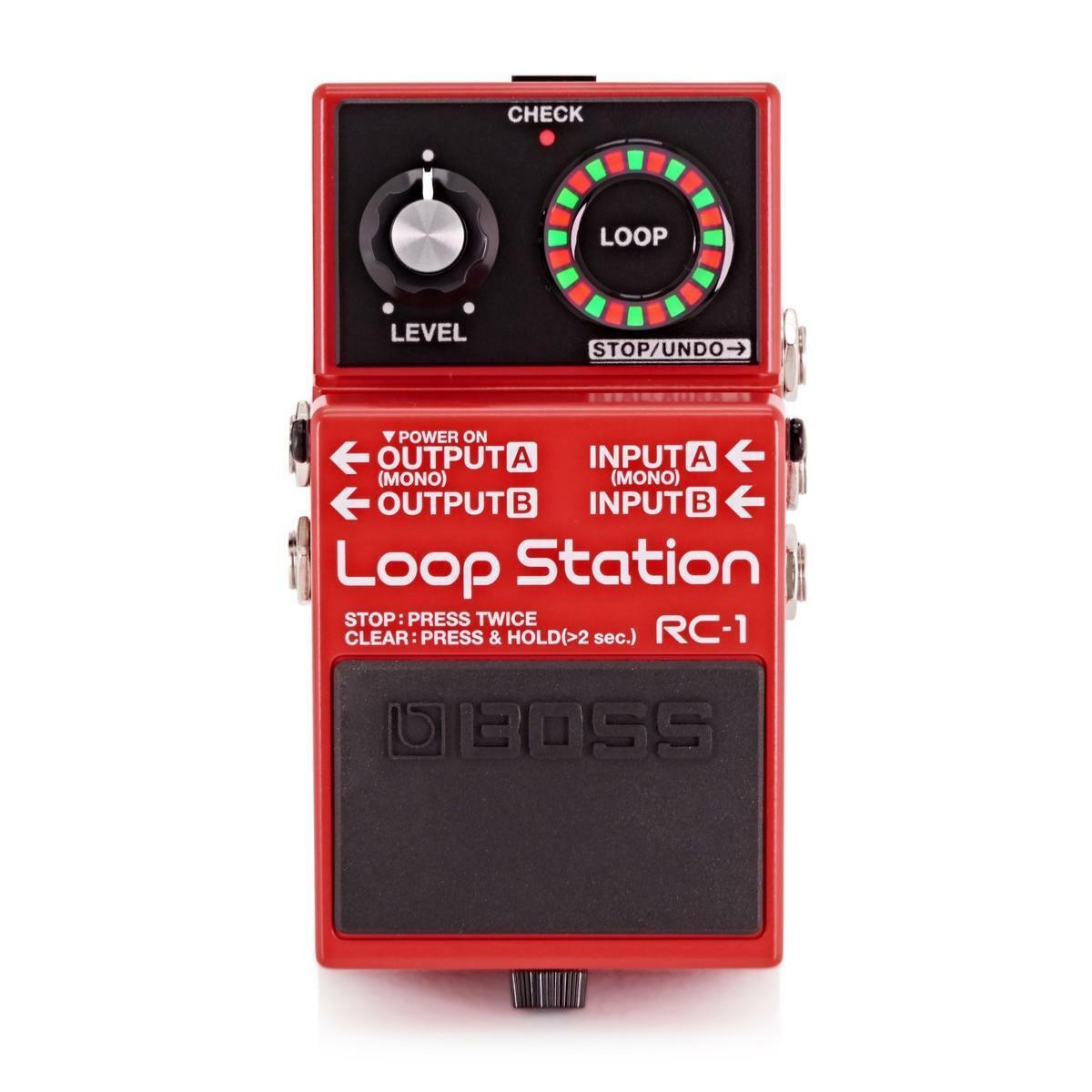 BOSS - RC-1 - LOOP Station Pédale d'effets