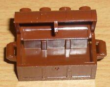 Lego Ritter 1 Schatztruhe /-kiste in neu braun