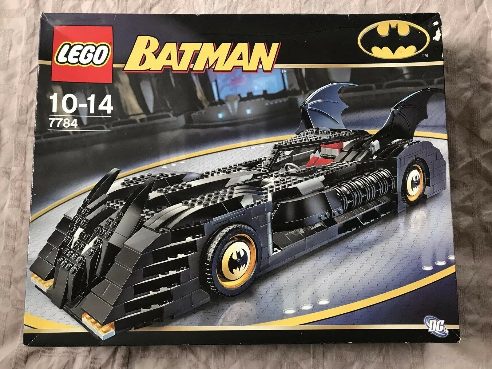 New, sealed LEGO Batman The Batmobile Ultimate Collectors' Edition (7784)
