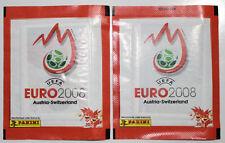 Panini Euro 2008 2  x Packs of sealed stickers