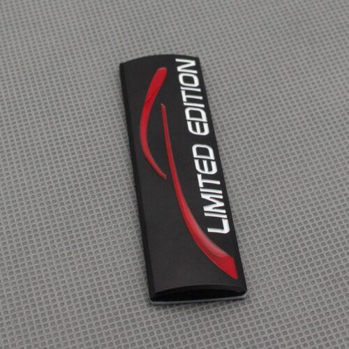 Rear Trunk Tailgate Trunk Emblem Black Limited Edition Door Fender Badge Sticker
