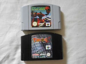 LYLAT-WARS-amp-TUROK-2-SEEDS-OF-EVIL-NINTENDO-64-N64-PAL-EUR-SPIEL-GAME-SPIELS-JEU