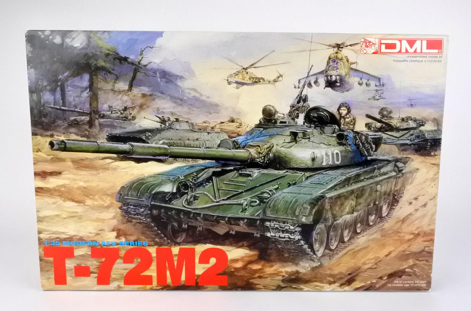 DRAGON 1 35 3501 RUSSIAN T-72 M2 MODEL KIT
