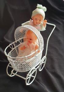 DOLLS HOUSE MINIATURE 3  Assorted Babies