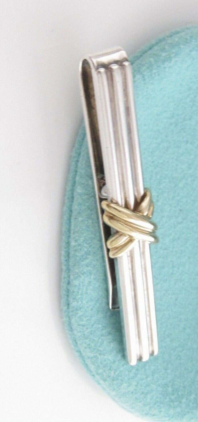Solvar Sterling Silver Trinity Knot Tie Tack