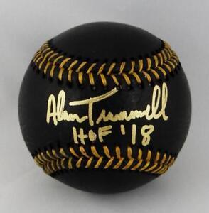 Alan-Trammell-Autographed-Rawlings-OML-Black-Baseball-w-HOF-JSA-W-Auth