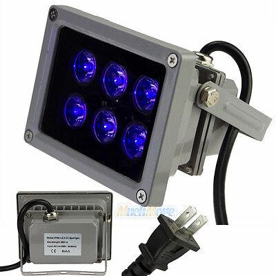 18W UV Glue Curing Dryer 6 LED UV Light Ultraviolet Lamp for LCD Screen Repair