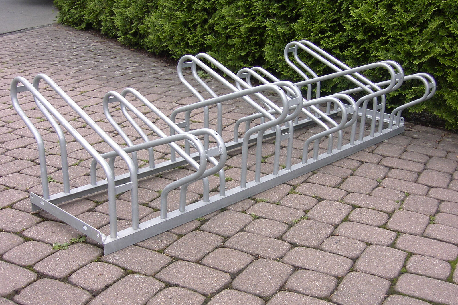 Fahrrad bügelparker 1160 1750mm Double-Sided   Fahrrad Stand   6 pitches