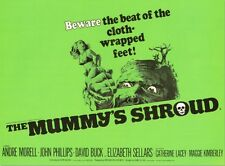 The Mummy's Shroud - Andre Morell - Hammer Horror - A4 Laminated Mini Poster