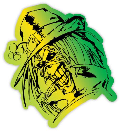 """Iron Maiden Leprechaun sticker decal 4/"""" x 4/"""""""