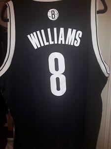 6a8b321f9135 Image is loading NBA-Adidas-Brooklyn-Nets-Basketball-Deron-Williams-8-