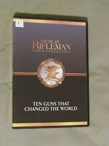 American-Rifleman-Video-Collection-70-DVD-LOT-NRA-Tales-of-the-Gun-History