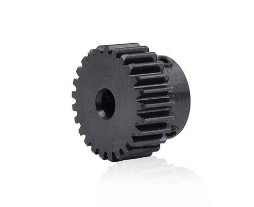 Zahnrad Stirnrad Stahl C45 Motorgetriebe 1 Modul 18 Zähne Bohrung 4//5//6//7//8//10mm