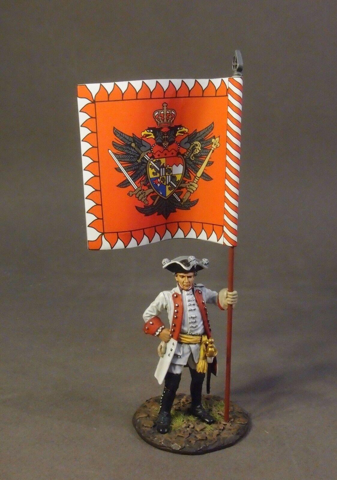 John Jenkins Sette Anni Guerra 1757 red-12 redh Wurzburg Fanteria Reggimento