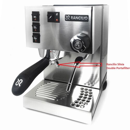 Made in Italy OEM Product Rancilio Silvia Double Portafilter Handle