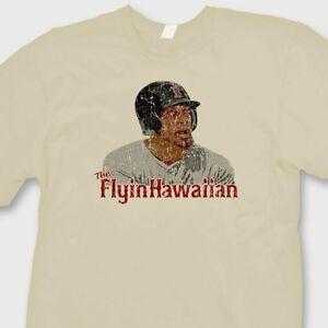 Image Is Loading The FLYIN HAWAIIAN 18 Shane Victorino T Shirt