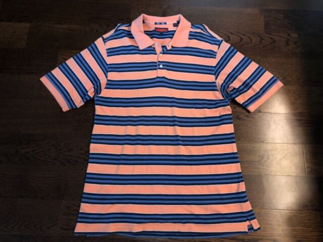Austin Reed London Men S Multi Color Striped Polo Shirt Size L For Sale Online