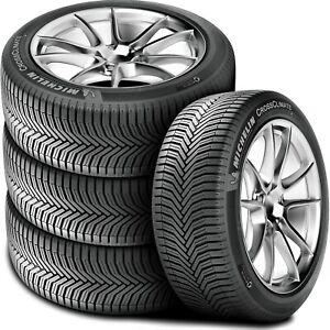 4-Michelin-CrossClimate-195-65R15-95V-XL-True-All-Season-Summer-Winter-Tires