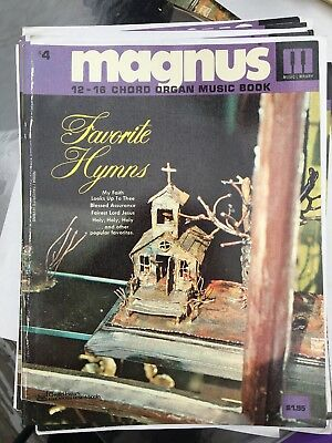 Magnus 12-16 Chord Organ Music book #4