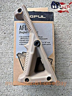 MAGPUL AFG2 PTS Tactical Angled Fore Grip Hand Guard Stop Tan