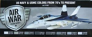 Vallejo-Model-Air-VAL71155-Modern-US-Navy-USMC-aircraft-8-colour-paint-set