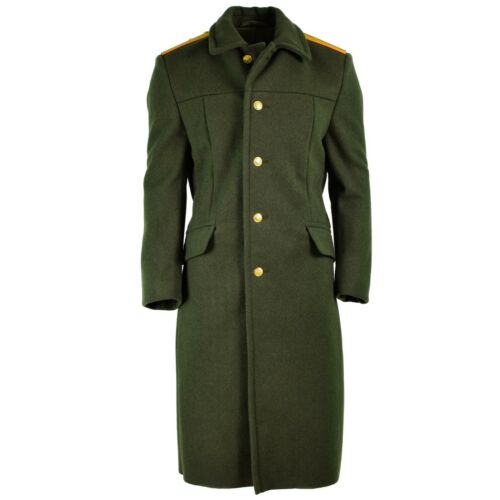 Orig Russian army Wool Overcoat Olive military officer field coat greatcoat NEW