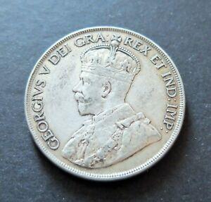 1936-SILVER-CANADA-1-DOLLAR-COIN-CIRCULATED-CONDITION-LOT-14